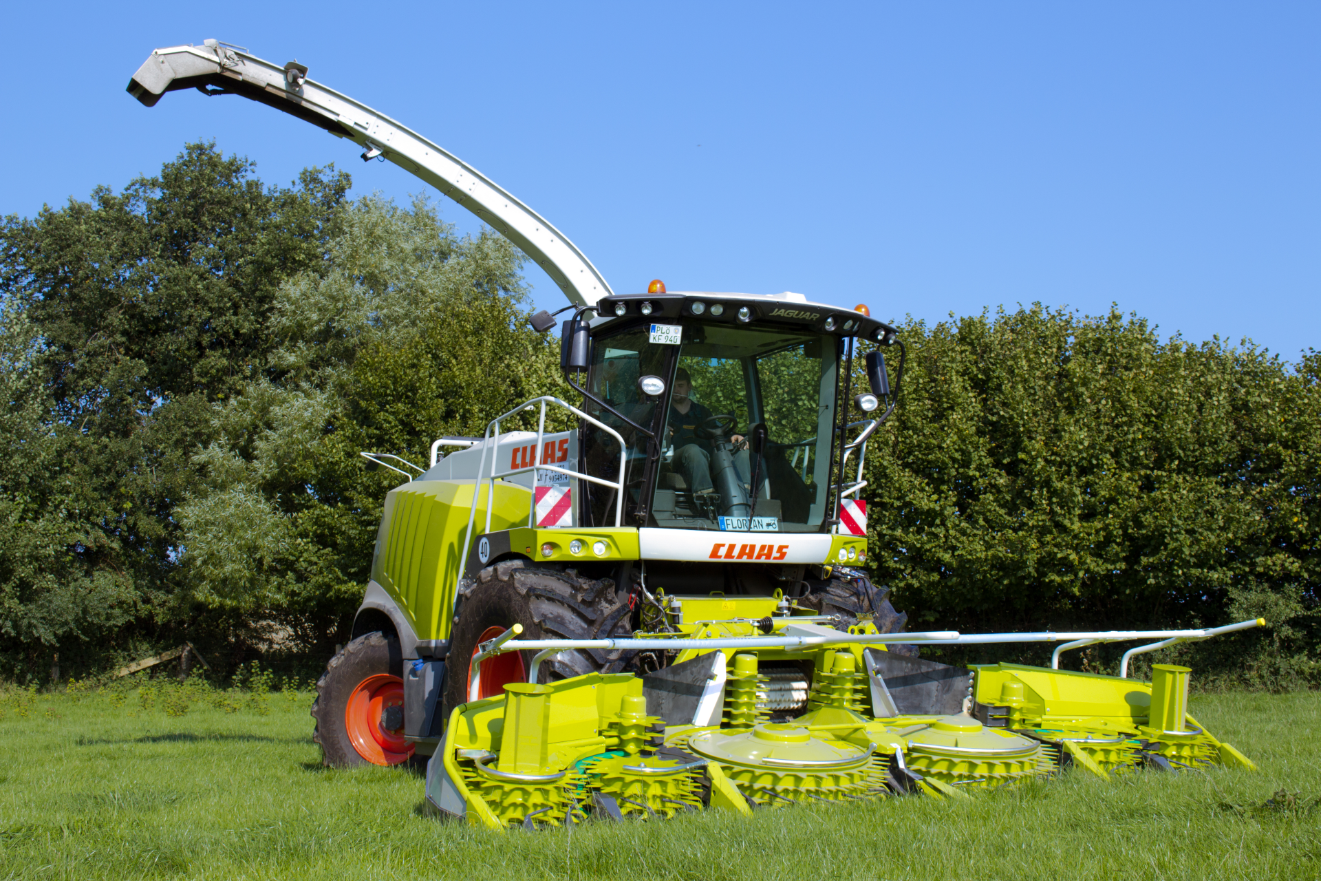 Claas Jaguar 940 Mais